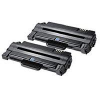Samsung MLT-P1052A Black High Yield Toner Cartridges Pack of 2 SV115A