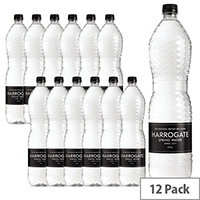 Harrogate Spring Bottled Water Still 1.5L Pack of 12