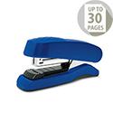 Rapesco Flat Clinch Half Strip Stapler Blue 1143