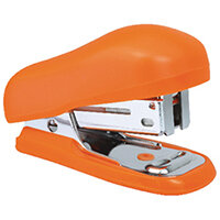 Rapesco Bug Mini Stapler Orange Blister Pack of 12 1410