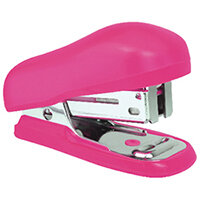 Rapesco Bug Mini Stapler Hot Pink Blister Pack of 12 1412