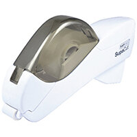 Rapesco SupaCut White Tape Dispenser with 2 Rolls of Tape 1445