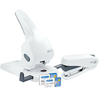 Rapesco Zero-65 Heavy Duty Hole Punch White HT810934