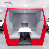 Bearing Point Dublin Office Fitout Project by Huntoffice Interiors