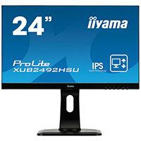 iiyama 24in Monitor ProLite XU2492HSU-B1  IPS Full HD XU2492HSU-B1 A