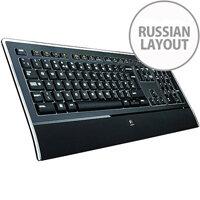 ILLUMINATED KEYBOARD K740 RUS INTNL