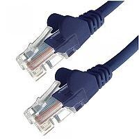 Group Gear 3M Blue RJ45 UTP CAT 5e Stranded Flush Moulded Snagless Network Cable 24AWG  22233