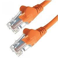 Group Gear 5M Orange RJ45 UTP CAT 5e Stranded Flush Moulded Snagless Network Cable 24AWG 22250