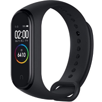 Xiaomi Mi Smart Fitness Band 4 - Wristband Activity Tracker - AMOLED Display - Wireless, Bluetooth 5.0 - Heart Rate, Footsteps, Calories Count, Distance Meter, Hours Slept - Battery Life: 20 days