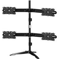 "Amer AMR4S32 monitor mount / stand 81.3 cm (32"") Freestanding Black"
