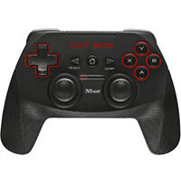 Trust GXT 545 Gaming Pad Wireless USB PC PlayStation 3 10 m Operating Range Black