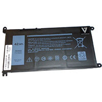 V7 Replacement Battery D-YRDD6-V7E for selected Dell Notebooks, Battery, DELL, INSPIRON 14: 5481 2-IN-1, 5482 2-IN-1, 5485, 5485 2-IN-1, 3482; INSPIRON 15 (5584); INSPIRON:...