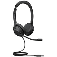Jabra Evolve2 30 UC Stereo Headset Head-band USB Type-A Black