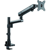 "V7 Monitor Mount Professional Touch Adjust, Clamp/Bolt-through, 8 kg, 43.2 cm (17""), 81.3 cm (32""), 100 x 100 mm, Black"