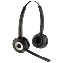 Jabra PRO 920/930 Binaural Headset for DECT Phones ; 120 metres Wireless Range ; Super Sensitive Mic ; Black