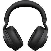 Jabra Evolve2 85, UC Stereo, Headset, Head-band, Office/Call center, Black, Binaural, Bluetooth pairing, Play/Pause, Track <, Track >, Volume +, Volume -