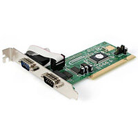 StarTech.com 2 Port PCI RS232 Serial Adapter Card with 16550 UART, PCI, Serial, RS-232, Green, 6548788 h, CE, FCC, TAA, REACH