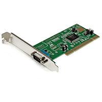 StarTech.com 1 Port PCI RS232 Serial Adapter Card with 16550 UART, PCI, Serial, RS-232, CE, FCC, RoSH, NetMos NM9820CV, -10 - 80 °C