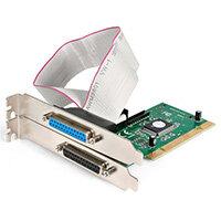 StarTech.com 2 Port PCI Parallel Adapter Card - EPP/ECP, PCI, Parallel, RS-232, 0.00018 Gbit/s, EPP, ECP, SPP, BPP, PS2, Windows 10 Education,Windows 10 Education x64,Windows 10 Enterprise,Windows 10 Enterprise...