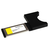 StarTech.com ExpressCard to CardBus Laptop Adapter PC Card, ExpressCard, Type I/II CardBus, Black, Metallic, CE, FCC, XIO2000A, 64 mm