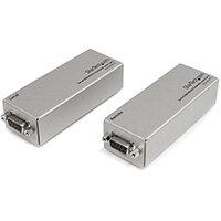 StarTech.com RS232EXTC1GB, Network transmitter, 1000 m, Cat5, Silver, 240 V, 0.055 A