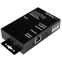 StarTech.com 1 Port RS232 Serial Ethernet Device Server - PoE Power Over Ethernet, 10/100Base-T(X), 100 - 240 V, 12 V, 0.1 A, 100 mA, Type M