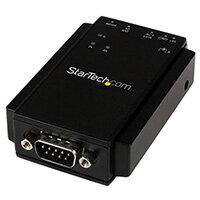 StarTech.com 1-Port Serial-to-IP Ethernet Device Server - RS232 - DIN Rail Mountable, 10/100Base-T(X), 100 - 240 V, 12 V, 1.2 A, Type H, AU,EU,UK,US