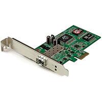 StarTech.com PCI Express Gigabit Ethernet Fiber Network Card w/ Open SFP - PCIe SFP Network Card Adapter NIC, Internal, Wired, PCI Express, Fiber, 2000 Mbit/s