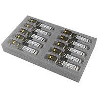 StarTech.com Cisco GLC-T Compatible SFP Transceiver Module - 1000BASE-T - 10 Pack, Copper, 1000 Mbit/s, SFP, 100 m, Gigabit Ethernet, IEEE 802.3ab