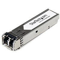 StarTech.com HPE JD092B Compatible SFP+ Module - 10GBASE SR SFP+ - 10GbE Multimode Fiber MMF Optic Transceiver - 10GE Gigabit Ethernet - LC 300m - 1310nm - DDM HPE 5120, 5500, 5810, 5900AF, Fiber optic, 10000 Mbit/s, SFP+, LC, SR, 200 m