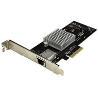 StarTech.com 1-Port 10G Ethernet Network Card - PCI Express - Intel X550-AT Chip, Internal, Wired, PCI Express, Ethernet, 20000 Mbit/s