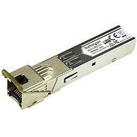 StarTech.com HPE 453154-B21 Compatible SFP Module - 1000BASE-T - SFP to RJ45 Cat6/Cat5e - 1GE Gigabit Ethernet SFP - RJ-45 100m - HPE 6120XG, 6120G, Flex Fabric, Copper, 1000 Mbit/s, SFP, 100 m, IEEE 802.1ab, Silver