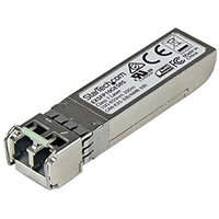 StarTech.com Juniper EX-SFP-10GE-SR Compatible SFP+ Module - 10GBASE-SR - 10GbE Multimode Fiber MMF Optic Transceiver - 10GE Gigabit Ethernet SFP+ - LC 300m - 850nm - DDM, Fiber optic, 10000 Mbit/s, SFP+, LC, SR, 300 m