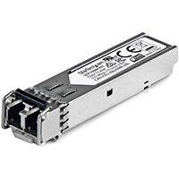 StarTech.com MSA Uncoded SFP Module - 100BASE-FX - 100MbE Multi Mode Fiber (MMF) Optic Transceiver - 100Mb Ethernet SFP - LC 2km - 1310nm - DDM, Fiber optic, 155 Mbit/s, SFP, LC, FX, 2000 m