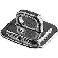 StarTech.com Laptop Cable Lock Anchor - Zinc Alloy, Cable tie mount, Desk, Steel, Silver