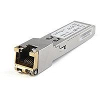 StarTech.com Cisco GLC-TE Compatible Module - 1000BASE-T Copper Industrial Gigabit Ethernet Transceiver - SFP to RJ45 Cat6/Cat5e 100m Extended Temp - Cisco Firepower, IE 2000, C9500, C2960, Copper, 1250 Mbit/s, SFP, 100 m, IEEE 802.3, 1000BASE-T