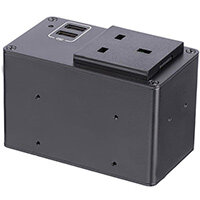 StarTech.com Power Outlet Module for Conference Table Connectivity Box, 73 mm, 107 mm, 61 mm, 484 g, 102 mm, 252 mm