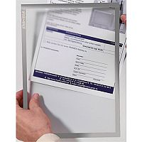 Franken Self-Adhesive Document Holder ValueLine A3 Grey ITSA3S 12