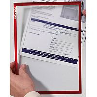 Franken Self-Adhesive Document Holder ValueLine A4 Red ITSA4S 01