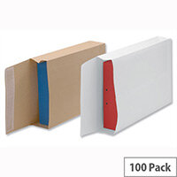 New Guardian Armour Gusset Envelopes 330x260x50mm Manilla 130gsm Peel and Seal Pack of 100