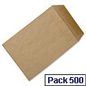 C5 Manilla Envelopes Pocket Press Seal 90gsm Pack 500 5 Star