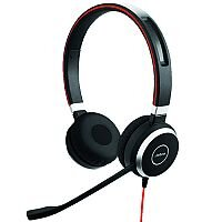 Jabra Evolve 40 UC Duo PC Stereo Headset