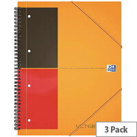 Oxford International Meeting A4 Notebook Plus Wirebound 160 Pages Buy 2 Get 1 Free JD00170