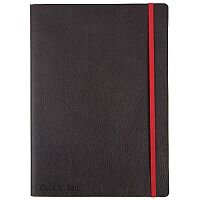 Black n' Red Soft Cover Notebook – B5, 144 Pages, 90gsm Optik Paper, Content Page, Numbered Pages, Elastic Strap & Storage Space (400051203)