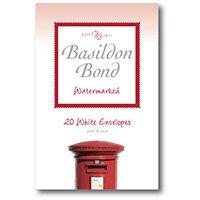 Basildon Bond White Envelope 95 X 143mm Pack of 20 100080067