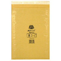 Jiffy AirKraft Mailer Size 3 220 x 320mm Gold GO-3 Pack of 10 MMUL04604