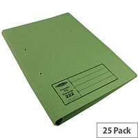 Guildhall Green Transfer File Foolscap Pack of 25