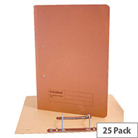 Guildhall Orange Transfer File Foolscap Pack of 25