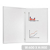 Franken Trio Lacquered Folding Whiteboard System 600 x 900mm