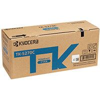 Kyocera Toner Cartridge Cyan TK-5270C 1T02TVCNL0